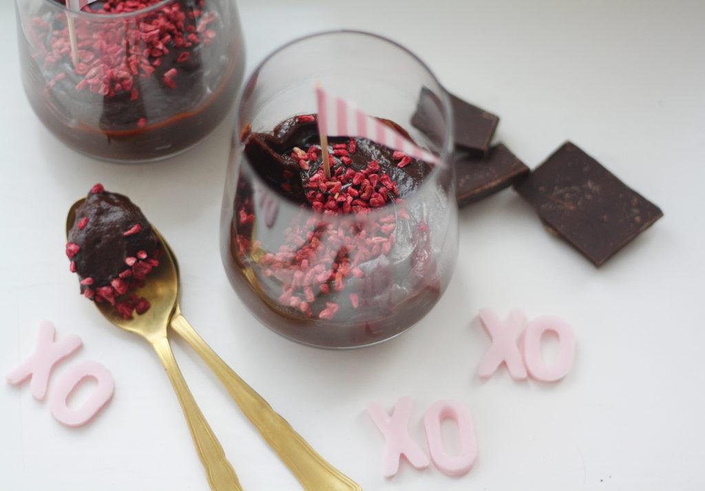 Ystävänpäivän suklaavanukas