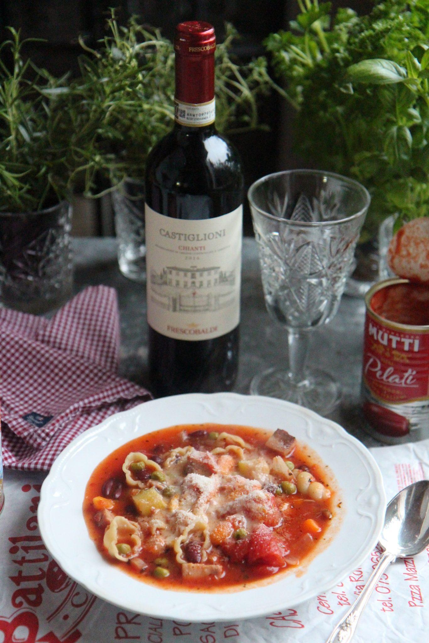 Viikko 2: Italian hekumaa, minestrone