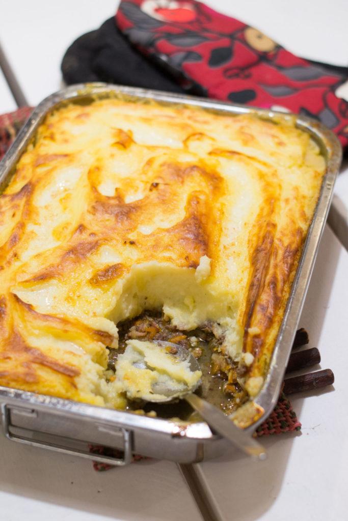 Hirvenliha-perunalaatikko