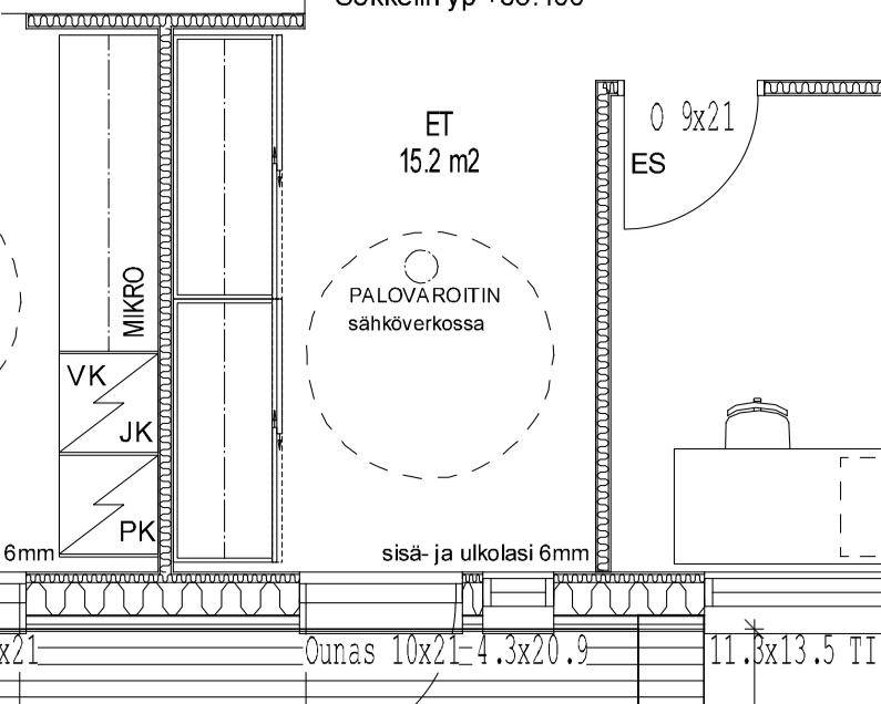 Ensimmäinen moka ja sähkösuunnitelman TODO-lista