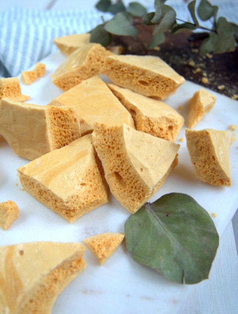 Hunajaiset honeycomb-makeiset
