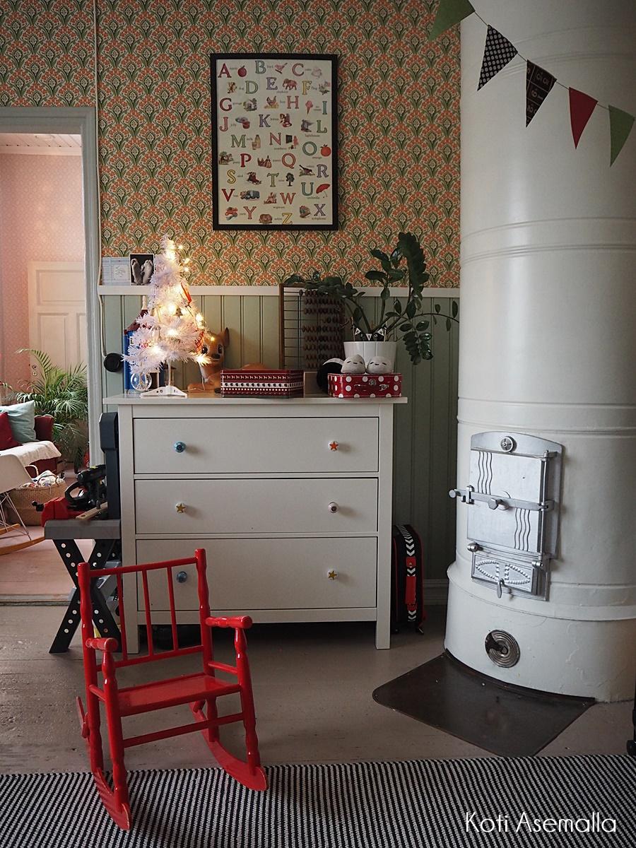 Meidän joulukoti- lastenhuoneet