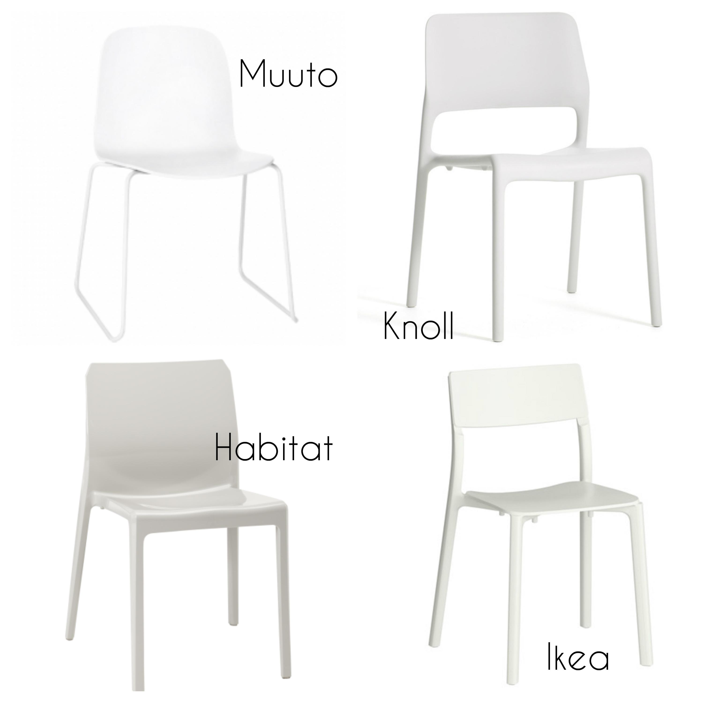 Valkoinen-kevyt-tuoli