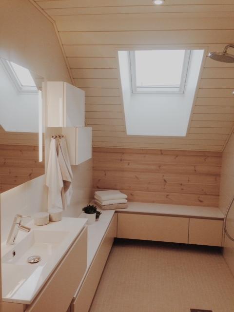 Viime kesän asuntomessuilla törmäsi ihaniin, raikkaisiin kylpyhuoneisiin.